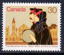 Canada 1982 Salvation Army Centenary, MNH, SG 1046 - 1952-.... Reign Of Elizabeth II