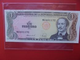 DOMINIQUE 1 PESO 1988 PEU CIRCULER  (B.7) - República Dominicana
