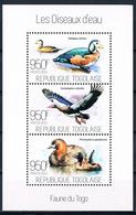 Bloc Sheet Oiseaux Canards Water Birds Ducks  Neuf  MNH ** Togo 2013 - Canards
