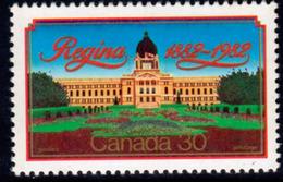Canada 1982 Regina Centenary, MNH, SG 1048 - 1952-.... Reign Of Elizabeth II