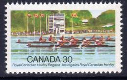 Canada 1982 Royal Canadian Henley Regatta Centenary, MNH, SG 1049 - 1952-.... Reign Of Elizabeth II