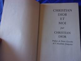 BIO CHRISTIAN DIOR ET MOI  PAR CHRISTIAN  DIOR 1961 - Fashion