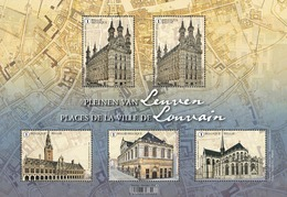 Pleinen Van Leuven** / Places De La Ville De Louvain MNH/  Belgie - Belgique 2019 - Belgique