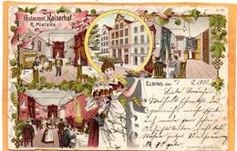 Gruss Aus Elbing Elblag 1900 Postcard - Polen
