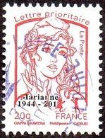 Oblitération Cachet à Date Sur Timbre De France N° 4767_be - Marianne De La Jeunesse. Prio 20g. Héliographie Surchargé - Francia