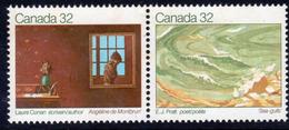 Canada 1983 Canadian Writers IV Pair, MNH, SG 1085/6 - 1952-.... Reign Of Elizabeth II