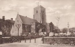 AR68 Folkestone, St. Mary's Church, N.E. - Folkestone