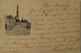 Tournai // Le Monument Francais 1898!! - Doornik
