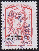 France Marianne De La Jeunesse Oblitération Cachet à Date N° 4767_aa - Prio Rouge, 20g.Taille Douce Surchargé - 2013-... Marianne (Ciappa-Kawena)