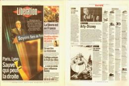 Journal LIBERATION 14mars2010 Illustration ASTERIX - Libros, Revistas, Cómics