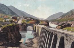 AM52 Le Caucase, La Route Militaire De Georgie, Mtskhet, Le Pont Et La Station - Georgia