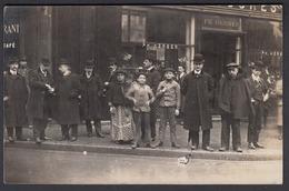 CPA 75 -  PARIS, P. Herber, Magasin De Chaussures, 144 Rue De Rivoli, Carte Photo - Distretto: 01