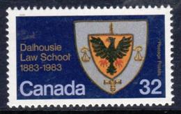Canada 1983 Dalhousie Law School Centenary, MNH, SG 1110 - 1952-.... Reign Of Elizabeth II