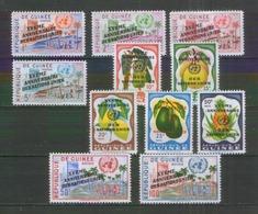Guinea 56--66 ** 15 Jahre UNO - UNO