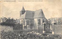 Ecaussinnes-Lalaing NA24: Eglise Sainte-Aldegonde 1909 - Ecaussinnes