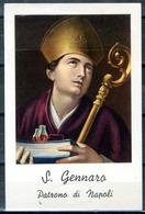 SANTINO - San Gennaro - Santino Con Preghiera Come Da Scansione. - Devotion Images