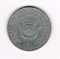 //  BURUNDI  5 FRANCS  1976 - Burundi