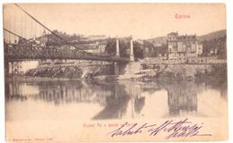 1905 TORINO  - PO E PONTE IN FERRO -- Q1810 - Ponti