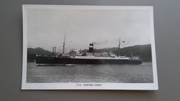 SCHIP T.S.S. CAPTAIN COOK - MILITAIR - Bateaux