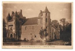35 Environs De Paimpont - Château De Trécesson - Autres Communes