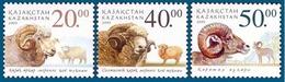 Kazakhstan 2003. Domestic And Wild Sheep. Animals.  Fauna.  Mammals Mi. # 410-412 - Briefmarken