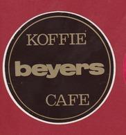 Sticker Autocollant Koffie Beyers Cafe Coffee Aufkleber Adesivo (Fold - Pli - Plooi) - Autocollants