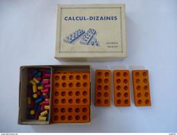 JEUX PEDAGOGIQUE : CALCUL-DIZAINES - Auteur MARTIN - Editeur Centre D'Activités Pédagogiques, Paris 1954 - Autres Collections