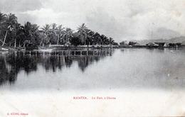 CPA -  TAHITI  -  RAIATEA  - Le Fort à Uturoa - Polinesia Francese
