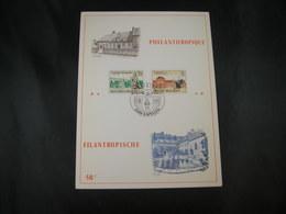 "BELG.1971 1571 & 1572 FDC ( Kapellen ) Filatelie Card : "" Filantropische / Philantropique "" (797289797) - 1971-80"