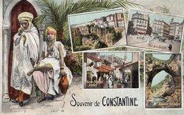 B57508 Cpa Souvenir De  Constantine - Konstantinopel