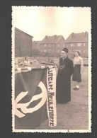 Houthalen - Originele Fotokaart Gevaert - Chiro St. Lutgart Meulenberg - Ca 1955 - Padvinderij