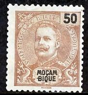 !■■■■■ds■■ Mozambique 1903 AF#096(*) Mouchon 50 Réis Brown (x1670) - Mozambique