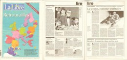 Journal LIBRE BELGIQUE 01mai2004 Illustration BLAKE ET MORTIMER TARDI SCHUITEN - Autres