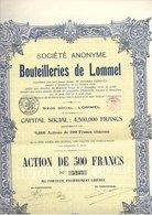 Bouteilleries De Lommel - 1920 - Actions & Titres