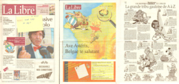 Journal LIBRE BELGIQUE 20sep2004 Illustration ASTERIX - Libros, Revistas, Cómics