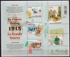 OCB Nr 4492/96 BL224 Groote Oorlog - Guerre War MNH - Belgique