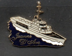 PIN'S Marine Nationale PORTE HELICOPTERES JEANNE D'ARC - Bateaux