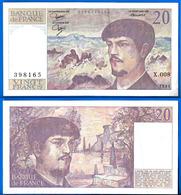 France 20 Francs 1981 Serix X 008 Que Prix + Port Debussy Franc Frcs Frs Paypal Bitcoin OK - 1962-1997 ''Francs''