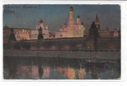 CPA - RUSSIA -  Moscow - Kremlin : Osternacht Im Kreml Zu Moskau- 1914 - Russia