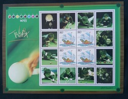 China 2014 World Snooker China Open And Ding Junhui Special Sheet - Nuovi