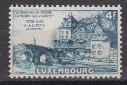 Luxemburg 1953 Victor Hugo / Vianden 1v ** Mnh (44581A) - Ongebruikt