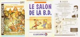 Journal PROGRAMME SALON ANGOULEME 1994 Illustration LAUZIER JANRY TINTIN - Autres