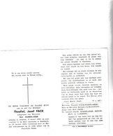 T.FACK °OEDELEM 1882 +MALDEGEM 1962 (I.DOBBELAERE) - Images Religieuses