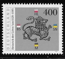 Germany 1995 Henry The Lion Duke Of Bavaria MNH - [7] República Federal
