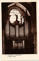 CPA ANGERS - La Cathédrale - Le Grand Orgue (207212) - Angers