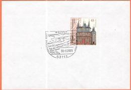 GERMANIA - GERMANY - Deutschland - ALLEMAGNE - BUNDESPOST - 2009 - 45 500 Jahre Rathaus Frankenberg An Der Eder + Specia - [7] Repubblica Federale