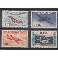 TIMBRES POSTE AERIENNE N°30 à 33 NEUFS  1954 Côte 200 Euros - Poste Aérienne