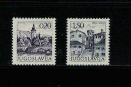 JUGOSLAWIEN , Yugoslavia , 1972 , ** , MNH , Postfrisch , Mi.Nr. 1493 I A X - 1494 I A X - 1945-1992 Sozialistische Föderative Republik Jugoslawien