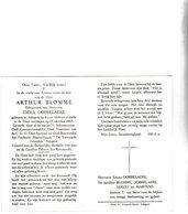 A.BLOMME °ADEGEM 1890 +1966 (E.DOBBELAERE) - Images Religieuses