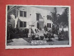 Harman Villa Hotel Miami Beach   Florida  >-ref   3595 - Miami Beach